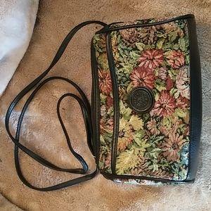 Mitzi crossbody floral tapestry hand bag
